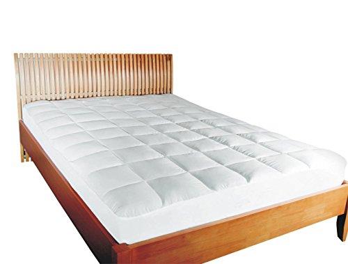 mesana premium matratzen schoner gr e 180 200 cm h he 27cm wei aus soft touch. Black Bedroom Furniture Sets. Home Design Ideas
