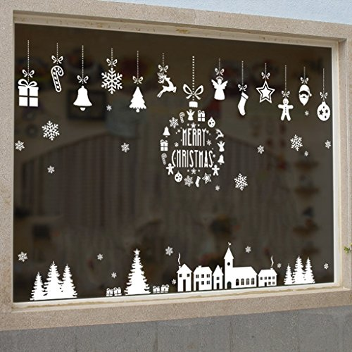 lqz weihnachten fensterbild fenstertattoo festersticker. Black Bedroom Furniture Sets. Home Design Ideas