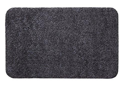 andiamo 700617 fu matte samson sauberlaufmatte aus baumwolle in anthrazit schmutzmatte mit. Black Bedroom Furniture Sets. Home Design Ideas
