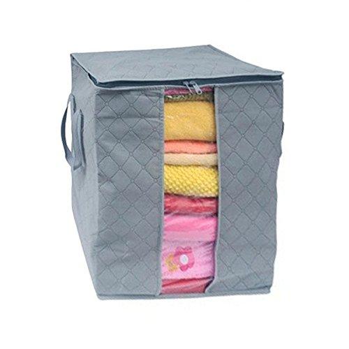 xinan aufbewahrungstasche f r bettdecken und kissen non woven lagerung tasche box 48 28 50cm d. Black Bedroom Furniture Sets. Home Design Ideas