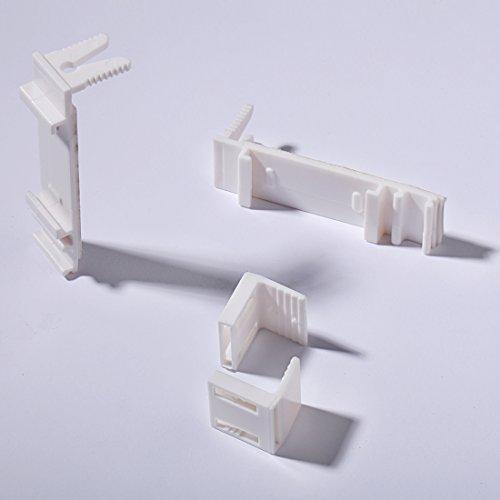 klemmtr ger verstellbar klemmfix f r doppelrollo und rollo ohne bohren zubeh r 2 st ck wolfidem. Black Bedroom Furniture Sets. Home Design Ideas