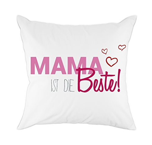 redland art mama ist die bester zierkissenbez ge f r mama papa kinder geschenk baumwolle. Black Bedroom Furniture Sets. Home Design Ideas