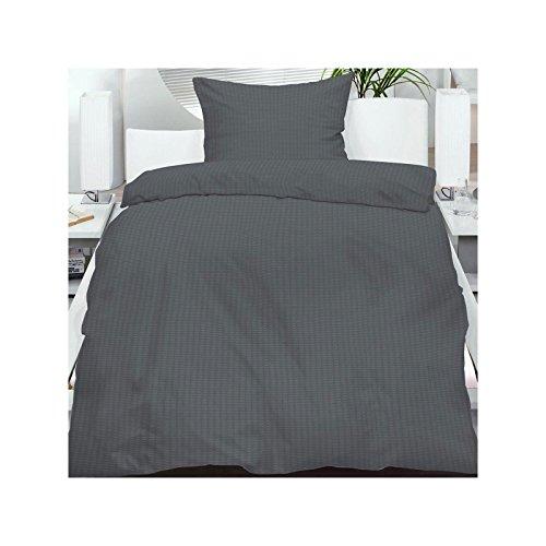 4 teiliges set mikrofaser seersucker sommer bettw sche standardgr e 135 200 80x80cm einfarbig. Black Bedroom Furniture Sets. Home Design Ideas