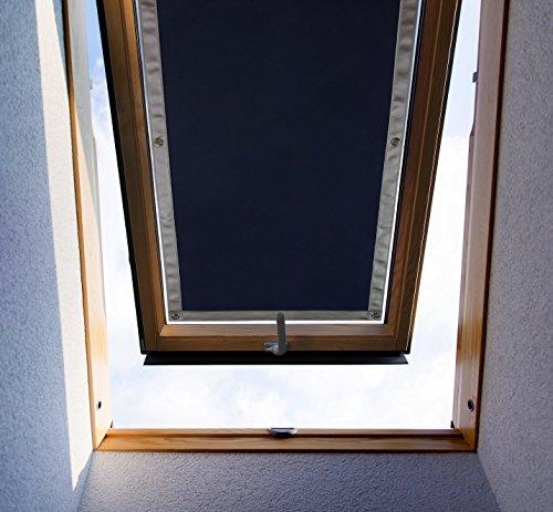 purovi thermo sonnenschutz f r dachfenster hitzeschutz f r innen ohne bohren ohne kleben. Black Bedroom Furniture Sets. Home Design Ideas