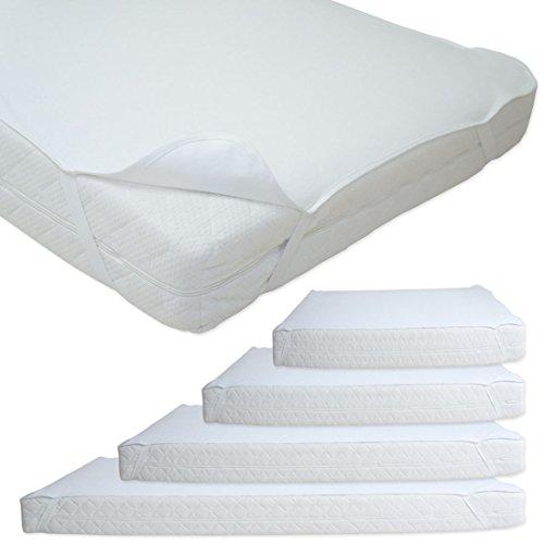 nurtextil24 matratzenauflage inkontinenz farbe wei alle gr en 70 x 140 cm wasserdicht. Black Bedroom Furniture Sets. Home Design Ideas
