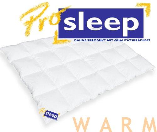 hanskruchen pro sleep komfort kassettendecke warm 135x200cm 90 daune. Black Bedroom Furniture Sets. Home Design Ideas
