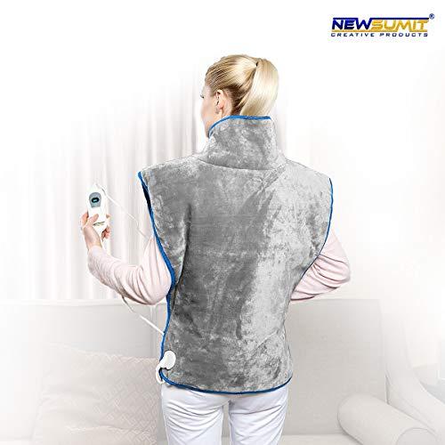 Heizkissen Nacken Rücken Schulter : 3 temperaturstufen newsumit heizkissen nacken schulter und r cken schmerzlinderung ~ Watch28wear.com Haus und Dekorationen